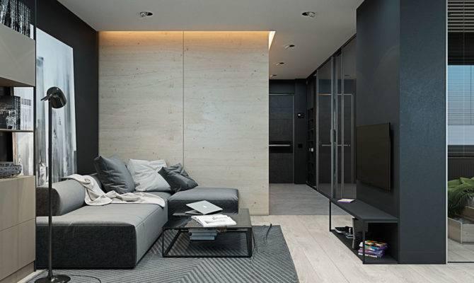 Apartments Monochromatic Studio Apartment Inspiration