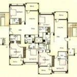 Apartments Typical Floor Plan Ground Stilted Parking