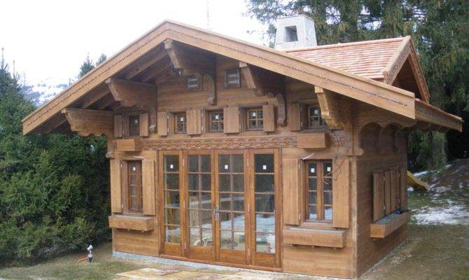 Aplaceimagined Swiss Chalet