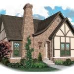 Apollo Hill Tudor Cottage Home Plan House