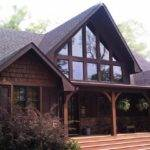 Appalachia Mountain Frame Lake House Plan Photos