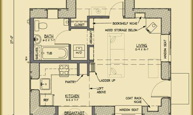 Applegate Straw Bale Cottage Plans Strawbale