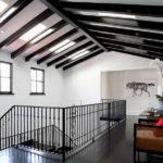 Applying Exposed Beam Ceiling Modern Spanish