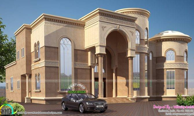 Arabian Model House Elevation Kerala Home Design