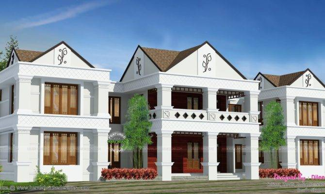 Arabic Style House Plan India Kerala Home Design