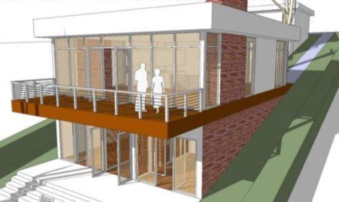 Architectmodern House Plan Land Big