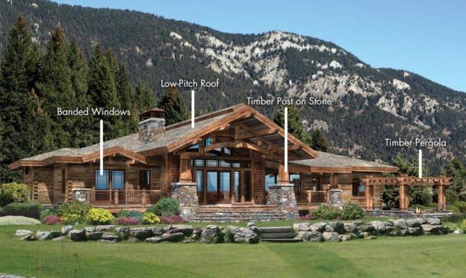 Architectrual Styles Log Homes Timber
