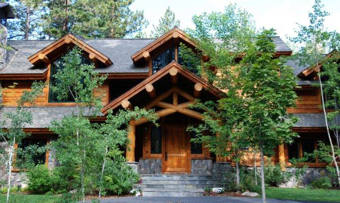 Architects Hendricks Architecture Idaho Rustic Log Accent Cabin