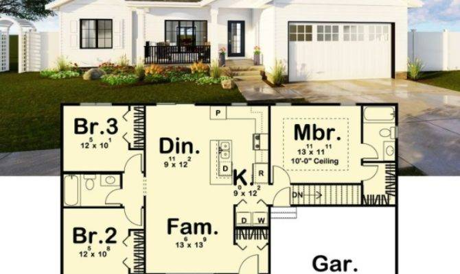 Architectural Designs Bed House Plan Makes
