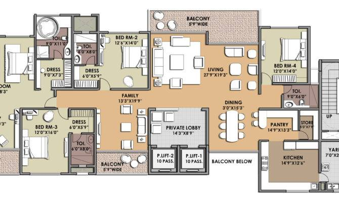 Architectural Designs Unit Apartment Building Plans Loft