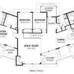 Architectural Home Plans Area Main Floor Upper