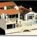 Architectural Model Miniature House Malibu California