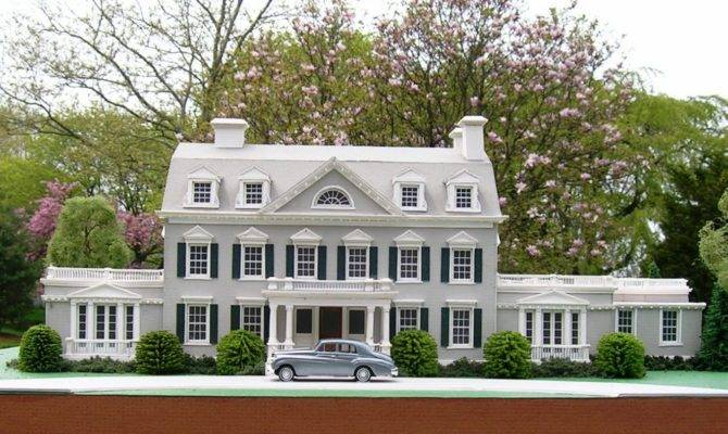 Architectural Model Residence Renovated Fleetwood Mcmullan