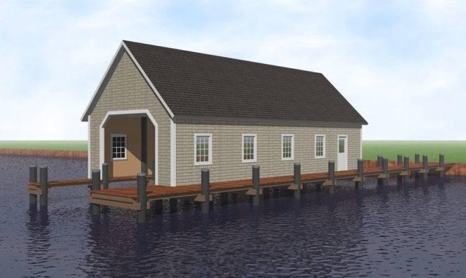 Architectural Plans Boat Houses Unique House