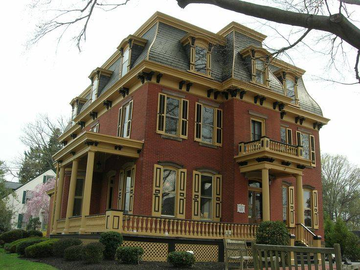 Architectural Styles Queen Anne Decorative Style