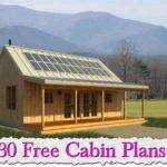 Architecture Cabin Lake Cottage Plans Cool House Guest Small Floor