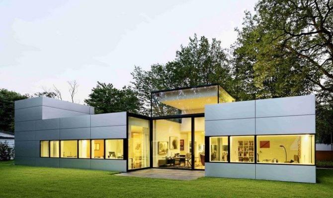 Architecture Haus Neufert Modern Single Story Cubical House