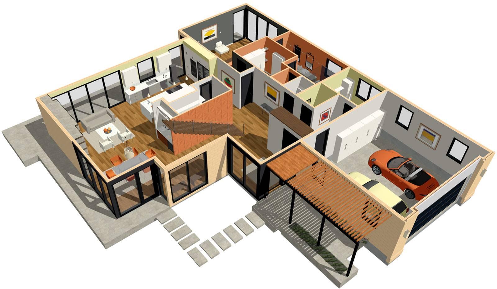 Architecture Home Design Homes Floor Plans