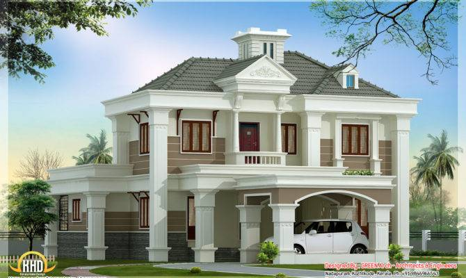 Architecture House Plans Kerala Home Design