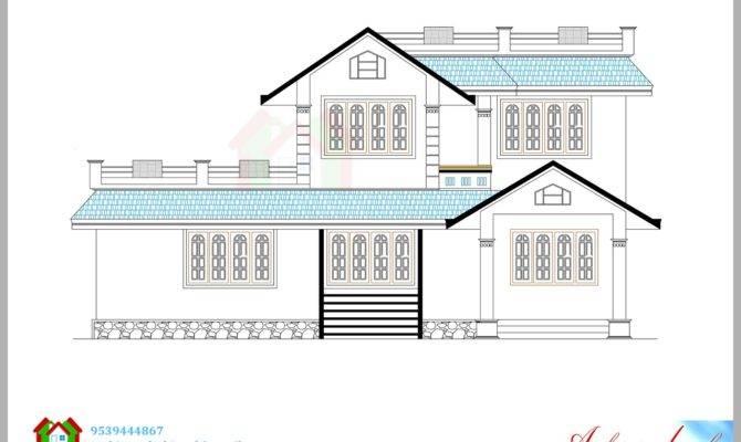 Architecture Kerala Beautiful House Elevation Its