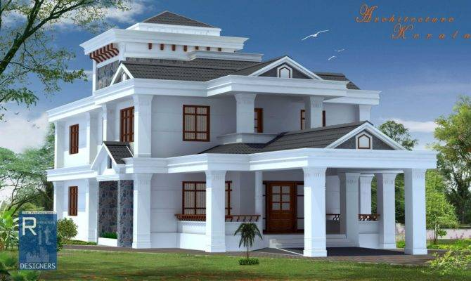 Architecture Kerala Bed Room House