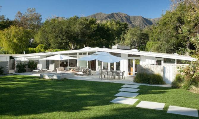 Architecture Modern Atomic Ranch White