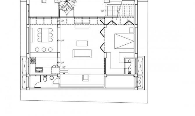 Architecture Photography Basement Floor Plan