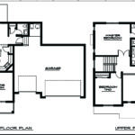 Architecture Story House Plans Bedrooms Two