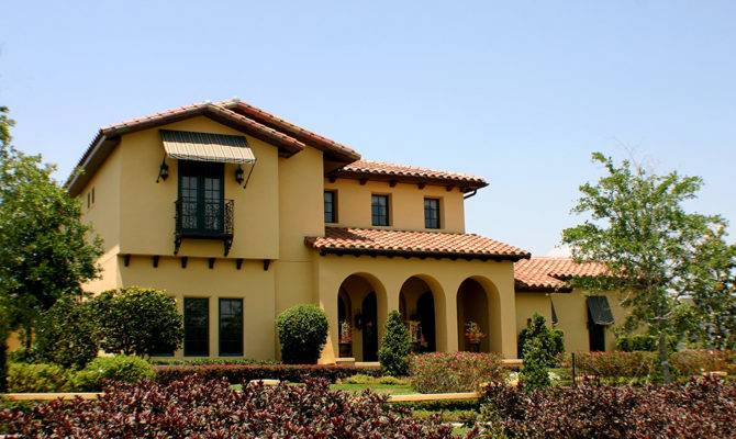 Architecture Themes Spanish Mediterranean Style Homes