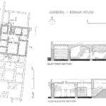 Area Roman House Plan Sections