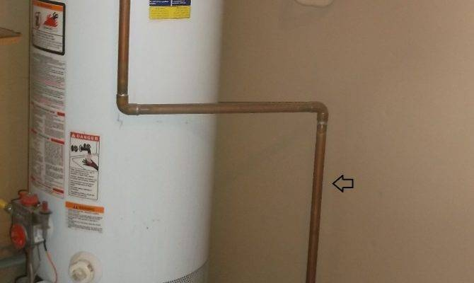Arizona Home Inspection Water Heater Tprv Drain Lines