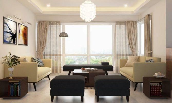 Arrange Furniture Large Square Living Room