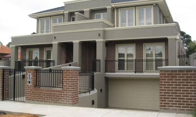 Artistic Split Level Homes Downward Sloping Block Unique