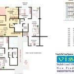 Arun Vista Bhk Flat Layout Plan