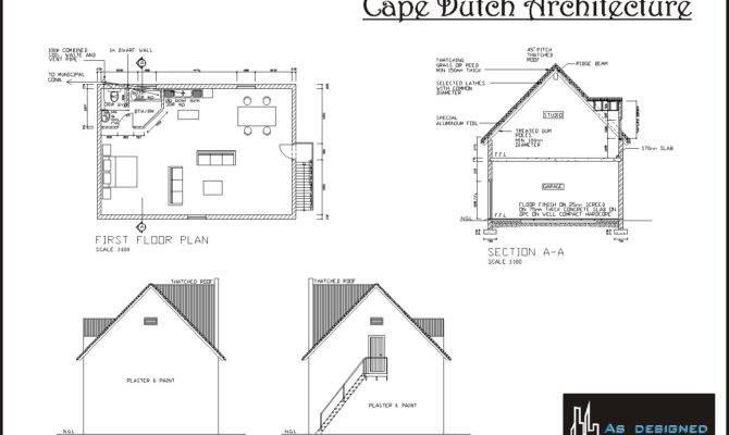 Asdesigned Cape Dutch Architecture