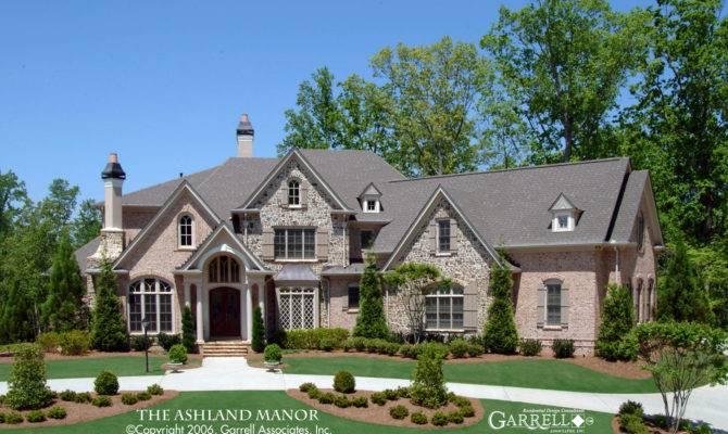 Ashland Manor House Plan Plans Garrell
