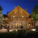 Aspen Colorado Log Home Favorite Places Spaces Pinterest