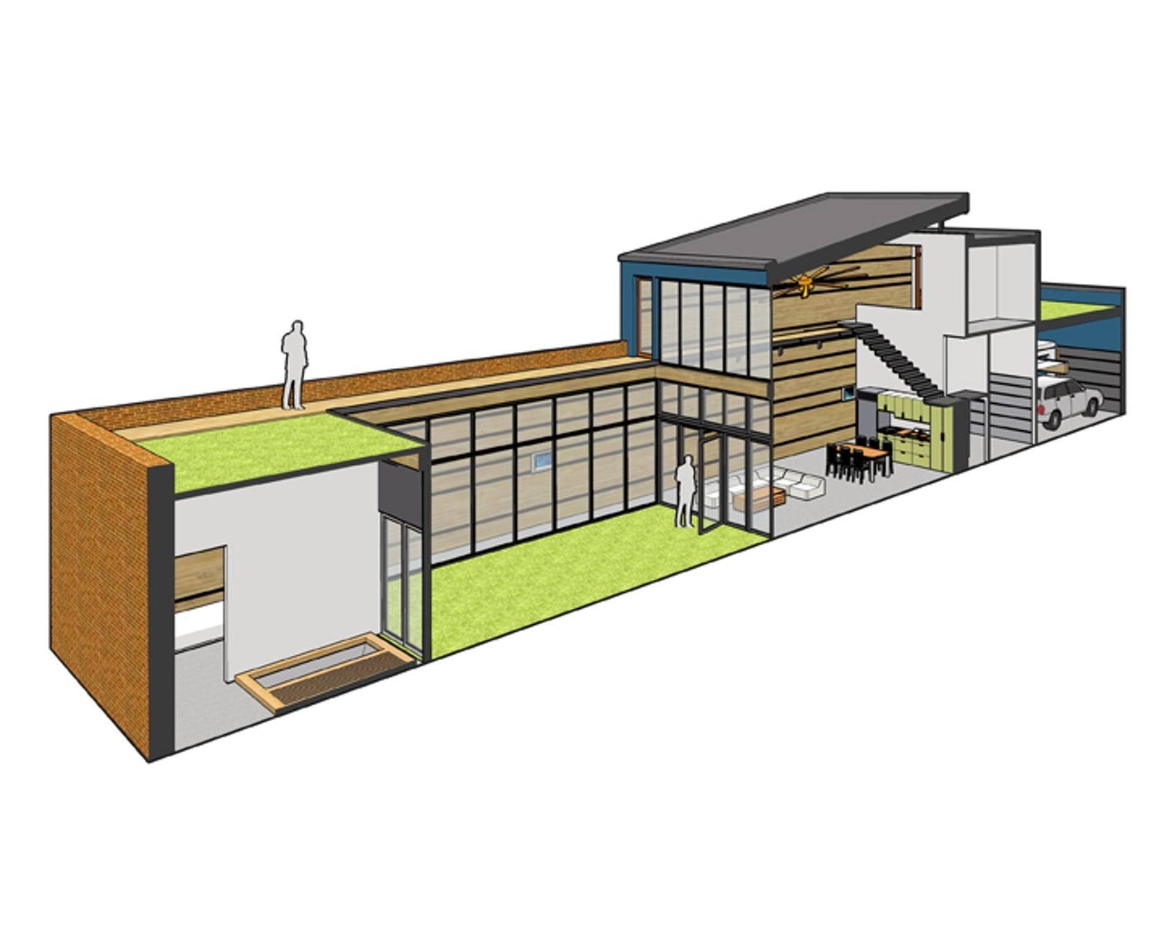 Atrium House Architizer
