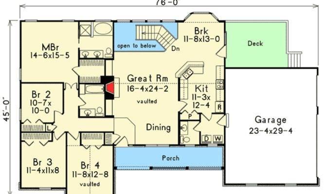 Atrium Ranch Rooms Spare Floor