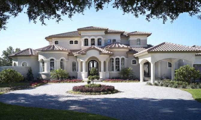 Audrey Custom Home Mediterranean Exterior Tampa