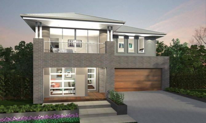 Augusta Two Storey House Design Canberra Region
