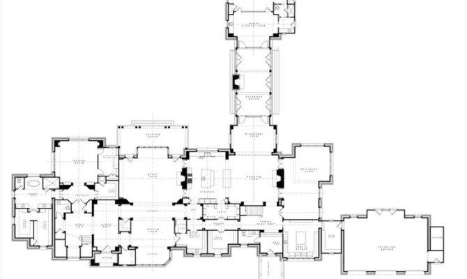 Austere English Manor Drawings Mansion Plans Renderings Pintere