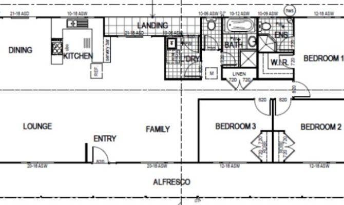 Australian House Floor Plans Three Bedroom Homestead