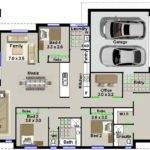 Australian Houses Narrow Lot Bedroom House Plan Home Cinema Room