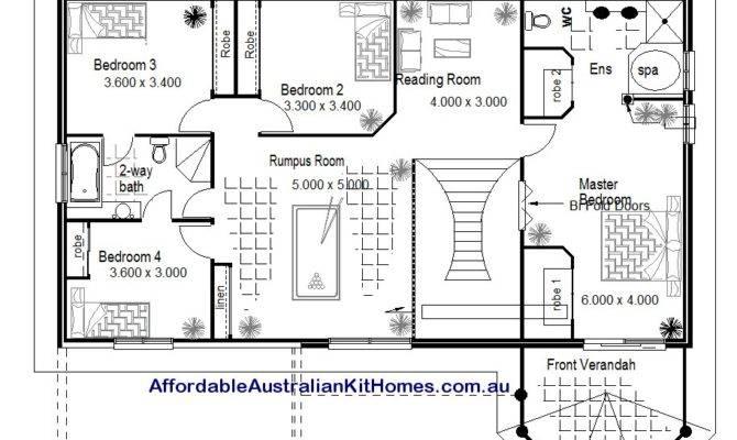 Australian Kit Homes Bedroom Plus Study Storey