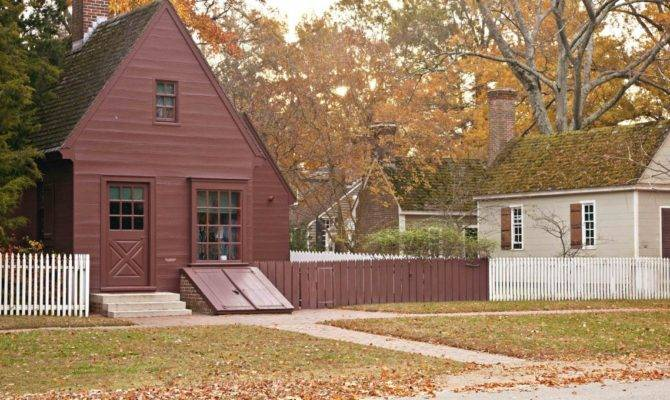 Authentic Colonial Houses Williamsburg