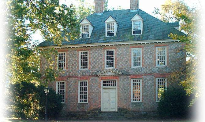 Authentic Williamsburg Colonial House Architectural Home
