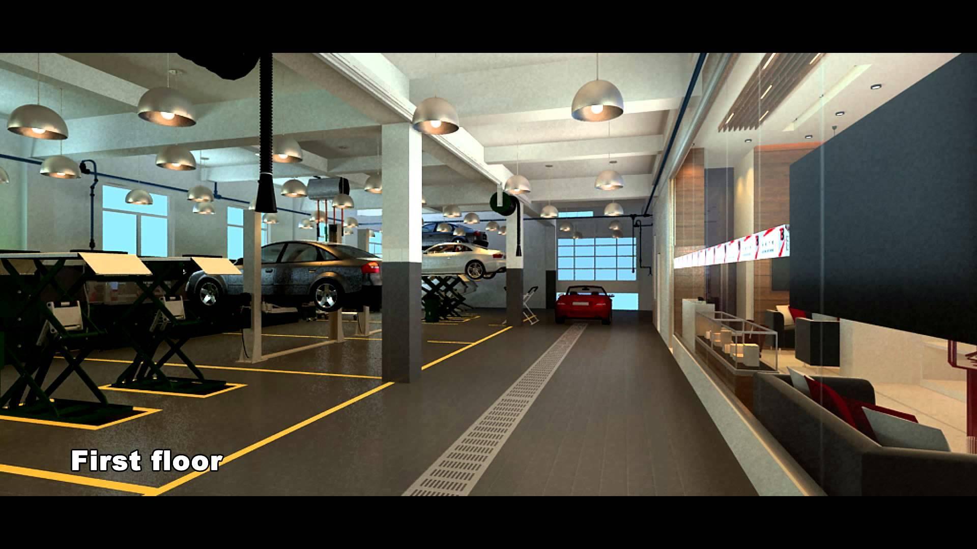 Auto Repair Shop Design Case Sylvanauto Youtube