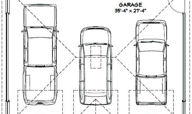 Average Detached Car Garage Square Feet