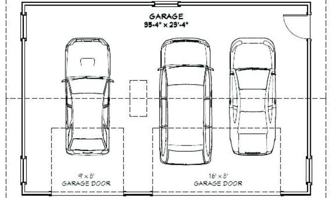 Average One Car Garage Door Home Desain